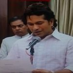 Sachin Tendulkar opens Rajya Sabha Innings