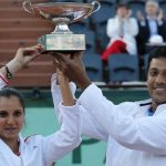 Bhupathi-Sania wins French Open Mixed Doubles Title