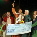 Sriram Panda receives Jayadev Award