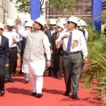 Bharat Petroleum's New Crude Distillation unit in Mumbai dedicated to the Nation