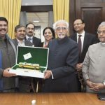 Vice President hands over TAPI replica to Petroleum Minister