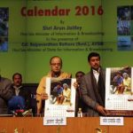 Jaitley releases the Government of India Calendar 2016