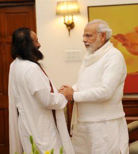 PM-Modi-Sri-Sri-Ravi-Shankar
