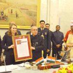 President receives The Garwood Award for 'Outstanding Global Leader'