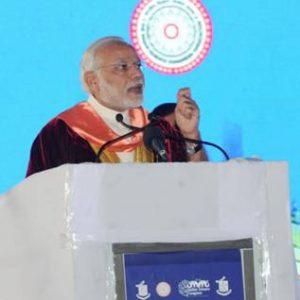 Modi at 103 Indian Science Congress