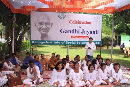 KISS KIIT Gandhi Jayanti