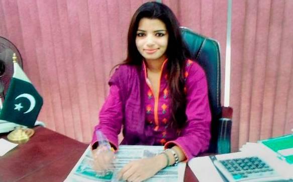Pakistani journalist Zeenat Shahzadi