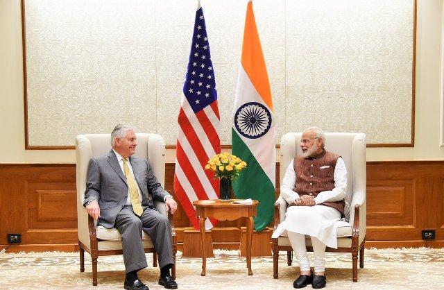 US Secretary of State Rex W. Tillerson – PM Modi