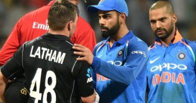New Zealand beat India in Mumbai ODI