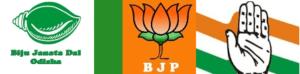BJD-BJP-Cong