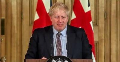 Boris Johnson Corona