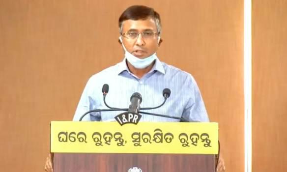 Chief Secretary Asit Tripathy