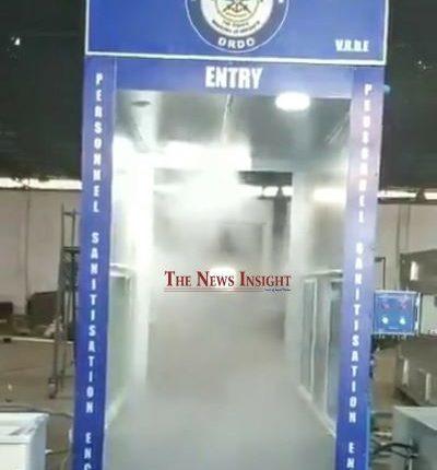 DRDO-Disinfectment Chamber