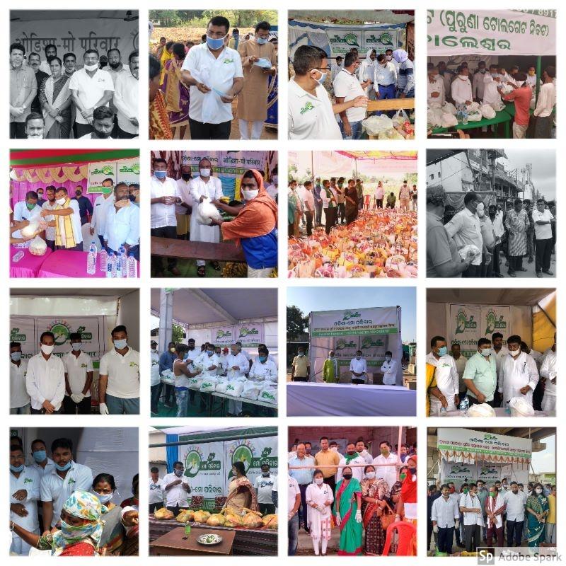 Odisha Mo Parivar Camps