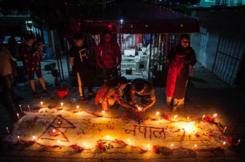 Nepal New Map Celebrations