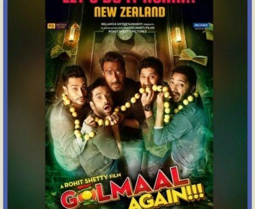 Golmaal Again New Zealand