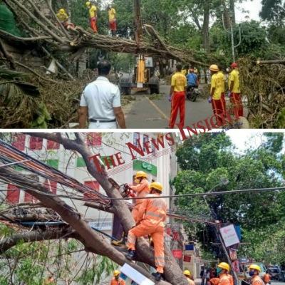 Amphan Duty Personnel Odisha