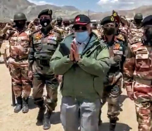 Modi Ladakh