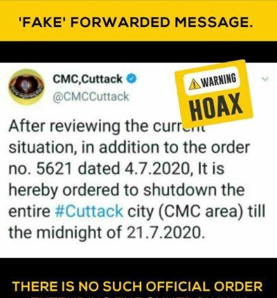 CMC Shutdown Cuttack
