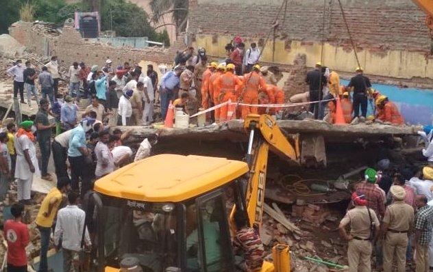 Dera Bassi building collapse