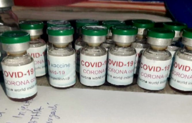 Fake COVID-19 Drug Unit Busted In Bargarh