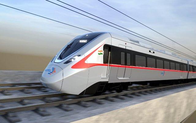 RRTS (Regional Rapid Transit System) train
