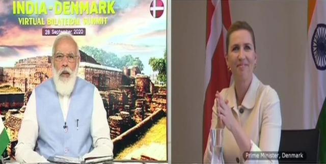 India-Denmark partnership