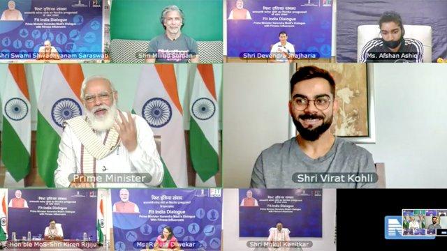 PM Modi addresses on 1st anniversary of Fit India Movement