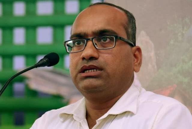 Rajya Sabha MP from Odisha Sujeet Kumar