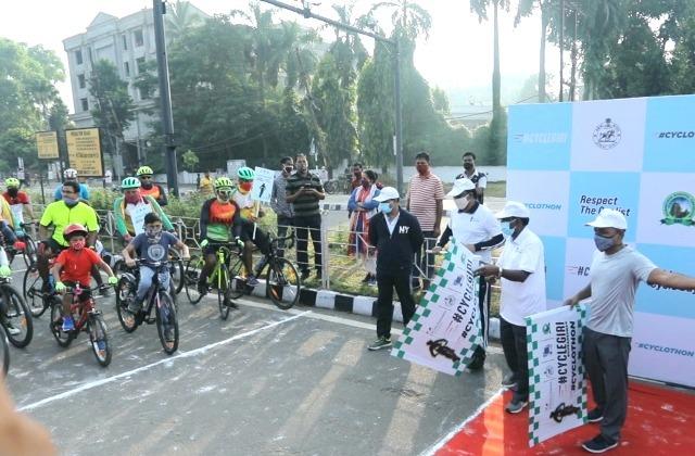 Cycles4Change campaign 'Cyclegiri' in Bhubaneswar