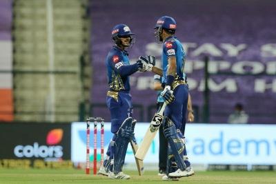Mumbai Indians beat KKR