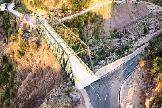 Rajnath Singh inaugurates 44 bridges made by Border Roads Organisation