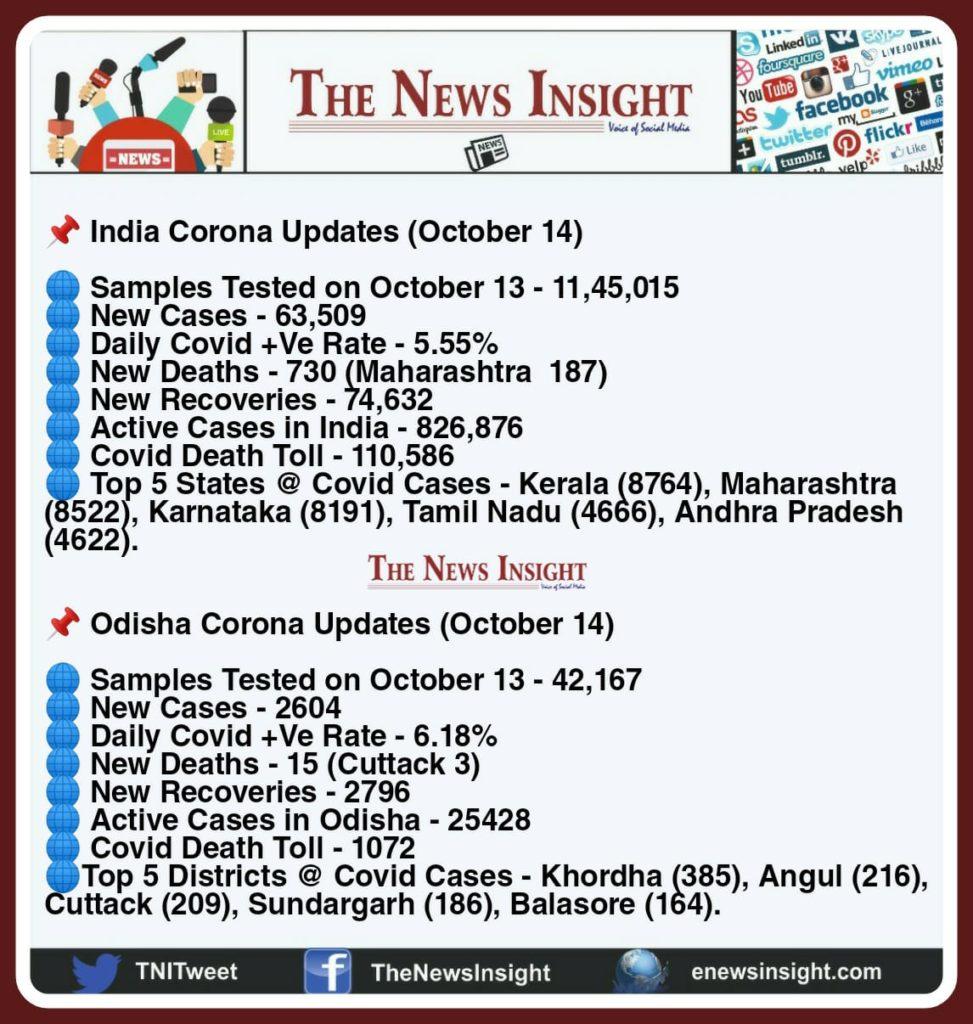 TNI Morning News Headlines – October 14, 2020