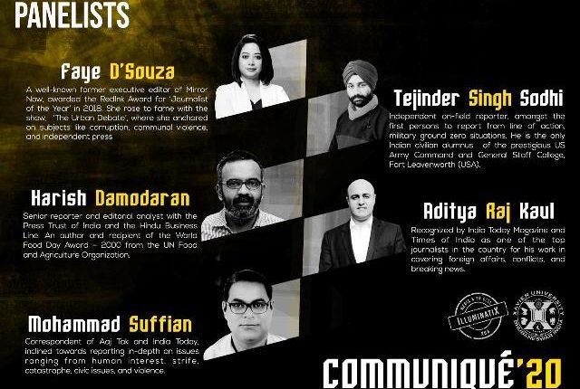 XUB Media Conclave 'Communiqué XUB' on October 31
