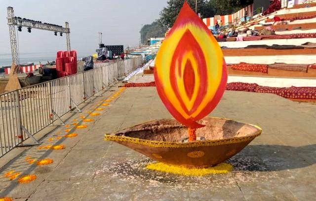 Ghats of Varanasi decked up ahead of Prime Minister Narendra Modi's visit