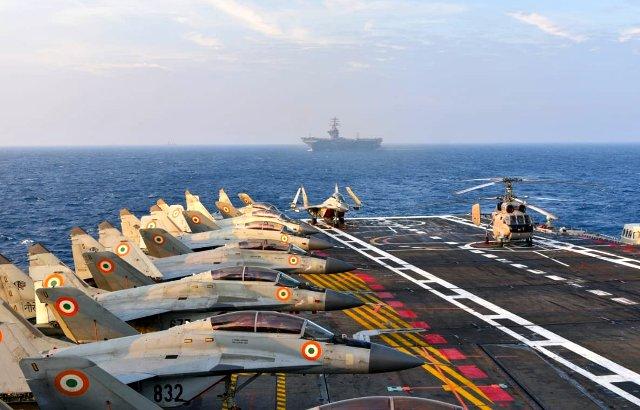 Malabar 2020 Wargames underway in the Arabian Sea & Indian Ocean Region