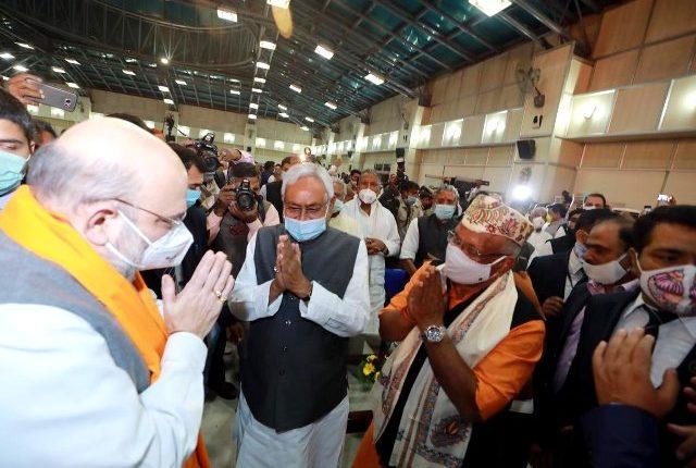 Nitish Kumar sworn in as Bihar CM -Amit Shah-BJP