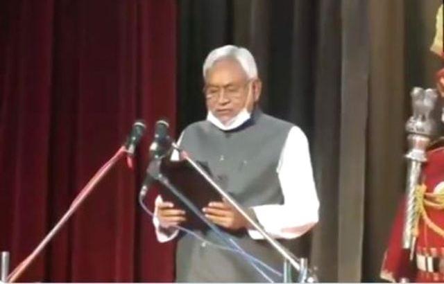 Nitish Kumar sworn in as Bihar CM for 4th straight term