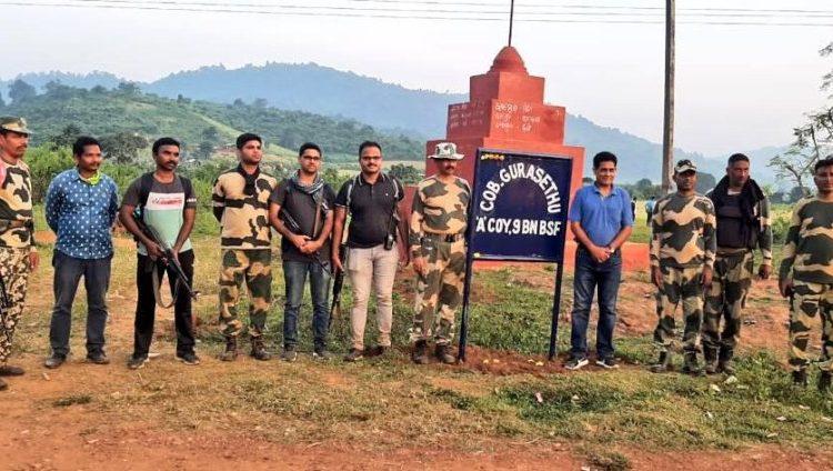 Odisha Police and BSF set up Company Operating Base for BSF at Gurasetu in Malkangiri