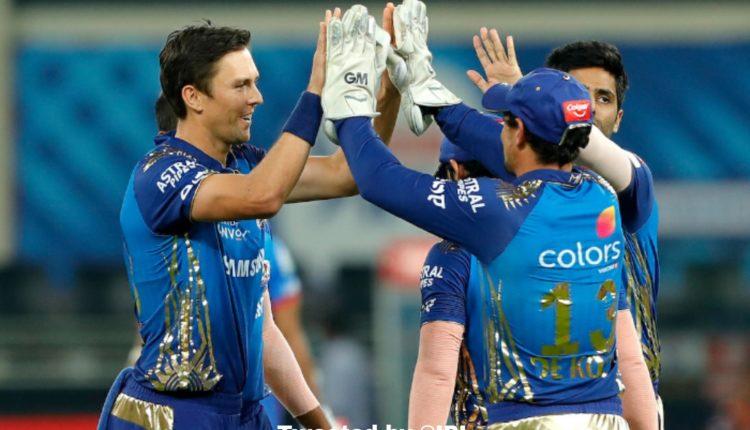 Mumbai Indians in IPL 2020 Final