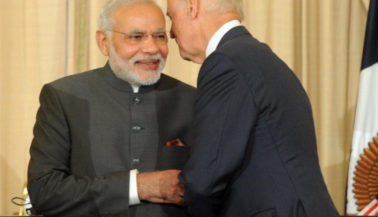 Narendra Modi Joe Biden