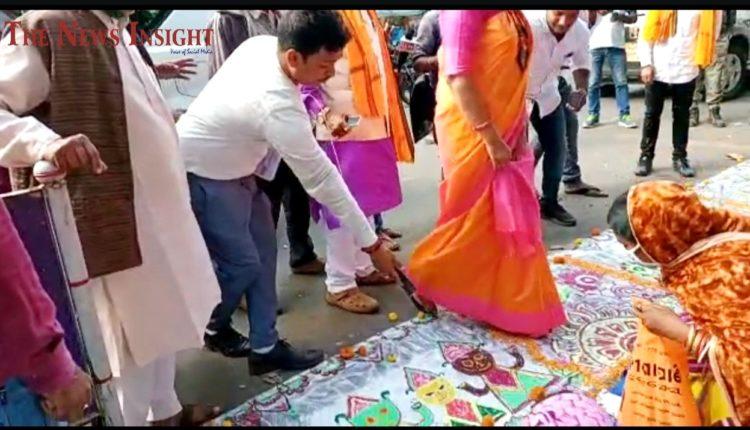 Aparajita Sarangi Jagannath Rangoli