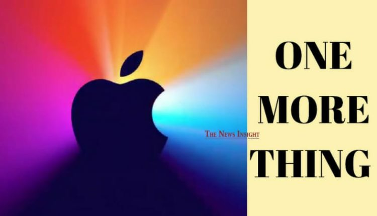 Apple's One More Thing Event