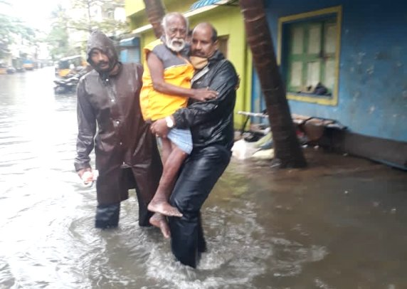 Cyclone Nivar-chennai police
