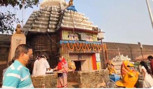Lingaraj Temple in Bhubaneswar reopens