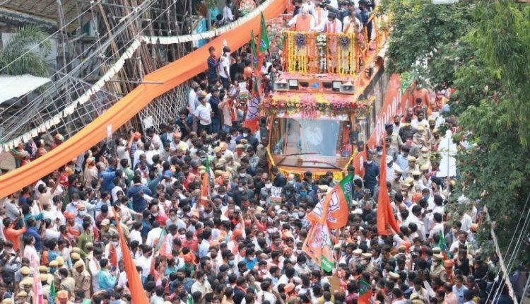 BJP Hyderabad Civic Polls