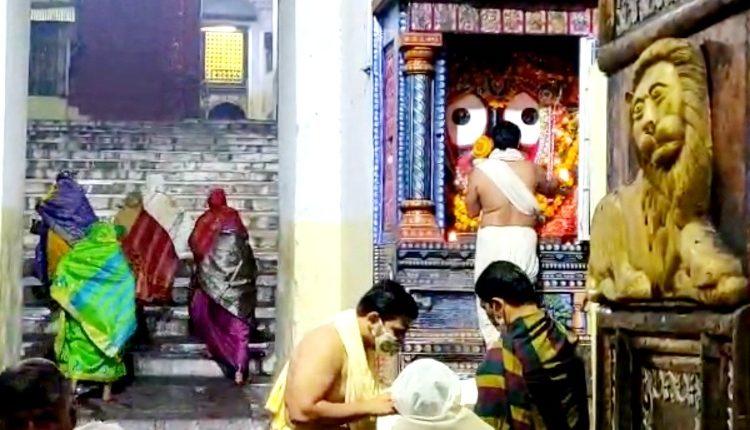 Puri Srimandir reopens