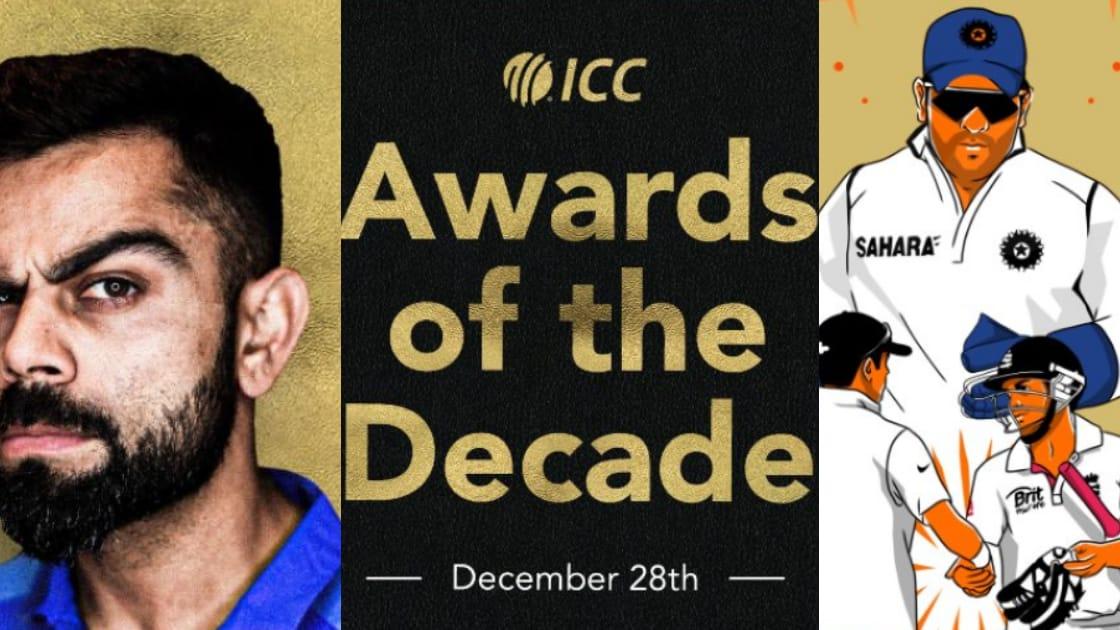 ICC Awards 2020: Virat Kohli bags top Decade Awards - The News Insight