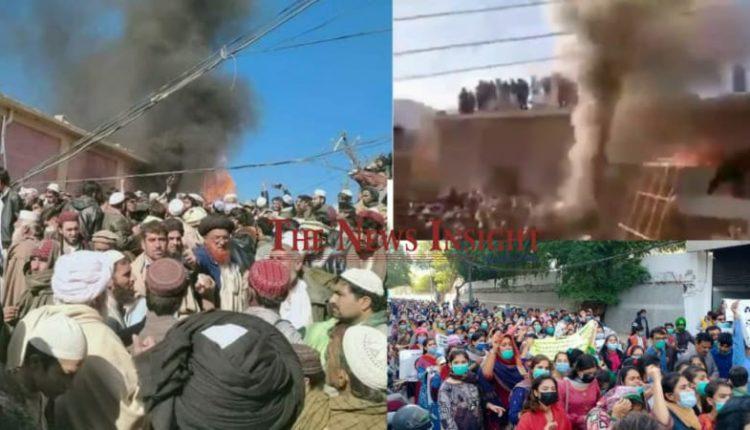 burning of Hindu Temple