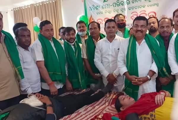 Blood donation drive Odisha